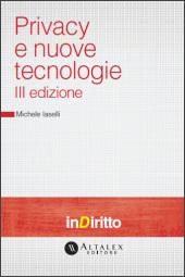 eBook - Privacy e nuove tecnologie