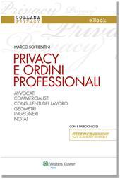 eBook - Privacy e ordini professionali