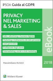 eBook - Privacy nel Marketing & Sales