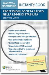 eBook - Professioni, Società e Fisco nella Legge di stabilità