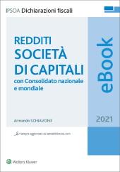 eBook - Redditi Società di capitali 2021