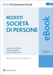 eBook - Redditi Società di persone 2021