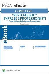 """eBook - """"Resto al Sud"""" imprese e professionisti"""