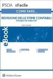 eBook - Revisione delle stime contabili