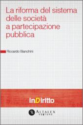 eBook - Riforma del sistema delle società a partecipazione pubblica