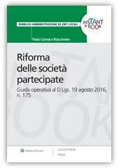 eBook - Riforma delle società partecipate