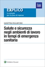 eBook - Salute e sicurezza negli ambienti di lavoro in tempi di emergenza sanitaria