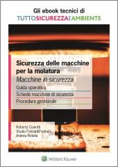 eBook - Sicurezza delle macchine per la molatura. Macchine in sicurezza