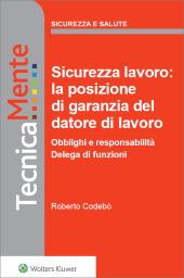 eBook - Sicurezza lavoro: la posizione di garanzia del datore di lavoro