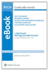 eBook - Split Payment, Reverse Charge, Nuovo Ravvedimento Operoso, 730 Precompilato, Voluntary Disclosure - I chiarimenti dell'Agenzia delle Entrate