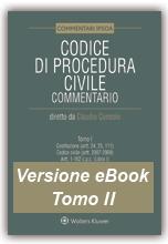eBook Tomo II - Codice di Procedura Civile Commentato