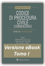eBook - Tomo I - Codice di Procedura Civile Commentato