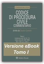 eBook - Tomo I - Codice di Procedura Civile Commentato