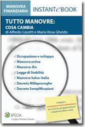 eBook - Tutto Manovre: cosa cambia