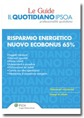 ebook - Risparmio energetico - Nuovo ecobonus 65%